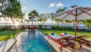 Discovery Beachfront Villas Pool - Discovery Kartika Plaza Hotel - Bali