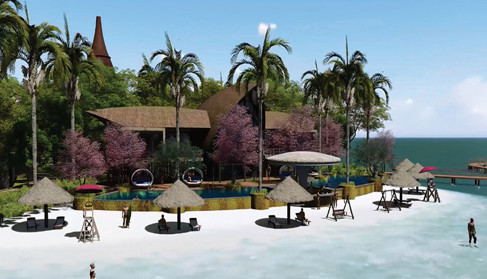 Matahari Island