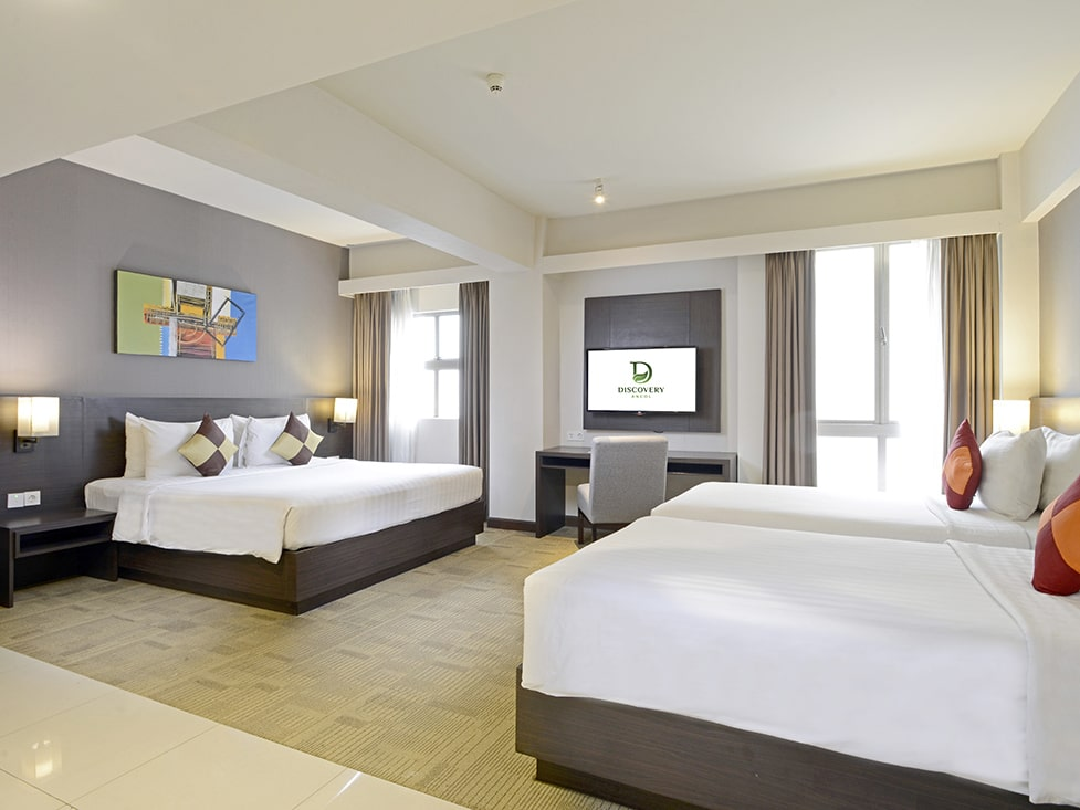 Family Room - Bedroom - Discovery Ancol