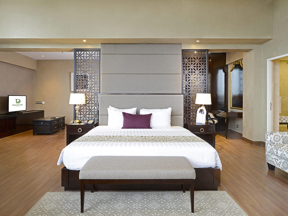 President Suite - Bedroom - Discovery Ancol