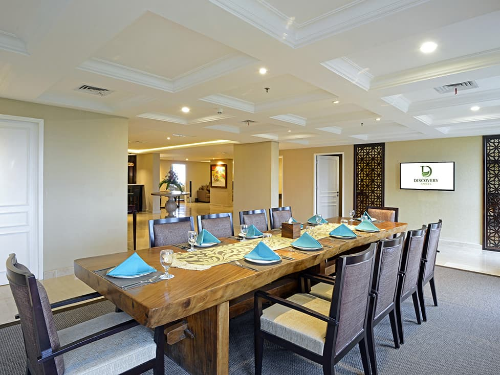 President Suite - Dinning Room - Discovery Ancol