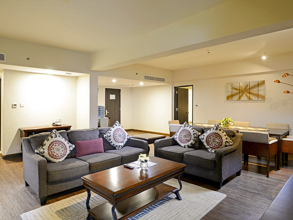President Suite - Living Room - Discovery Ancol