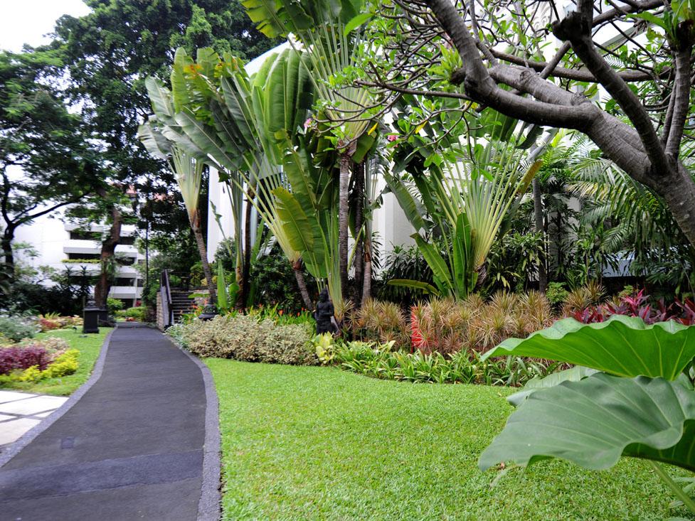 Jogging Track Hotel Borobudur Jakarta