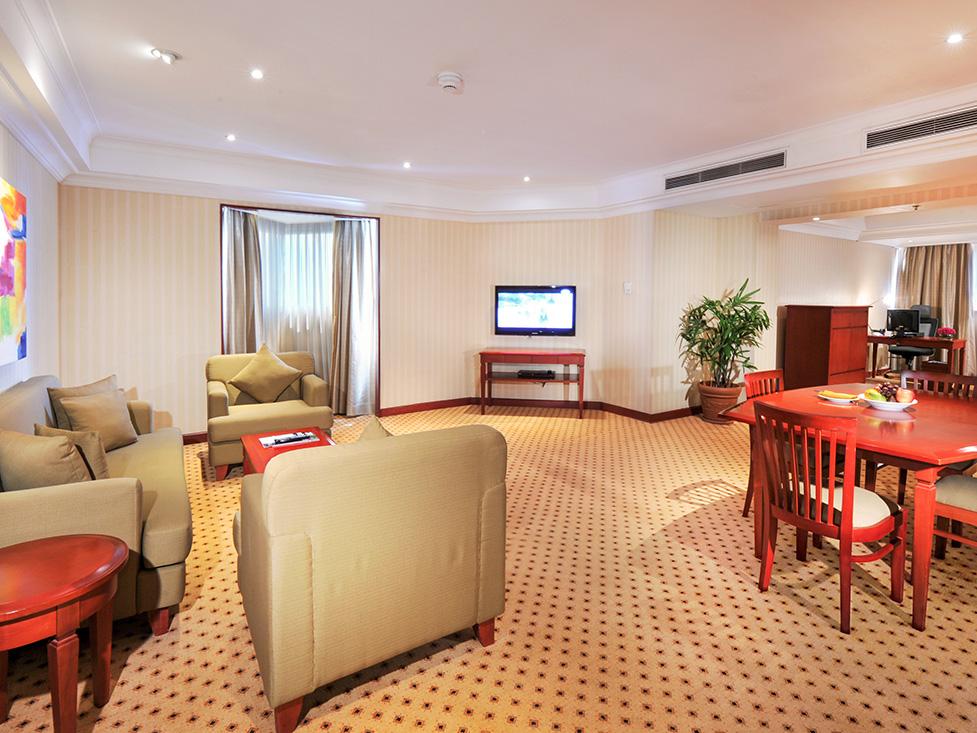 Deluxe Suite - Living Room - Hotel Borobodur Jakarta