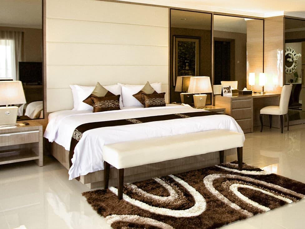 Presidential Suite - Bedroom - Palace Hotel Cipanas