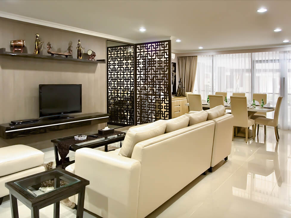 Presidential Suite - Living Room - Palace Hotel Cipanas