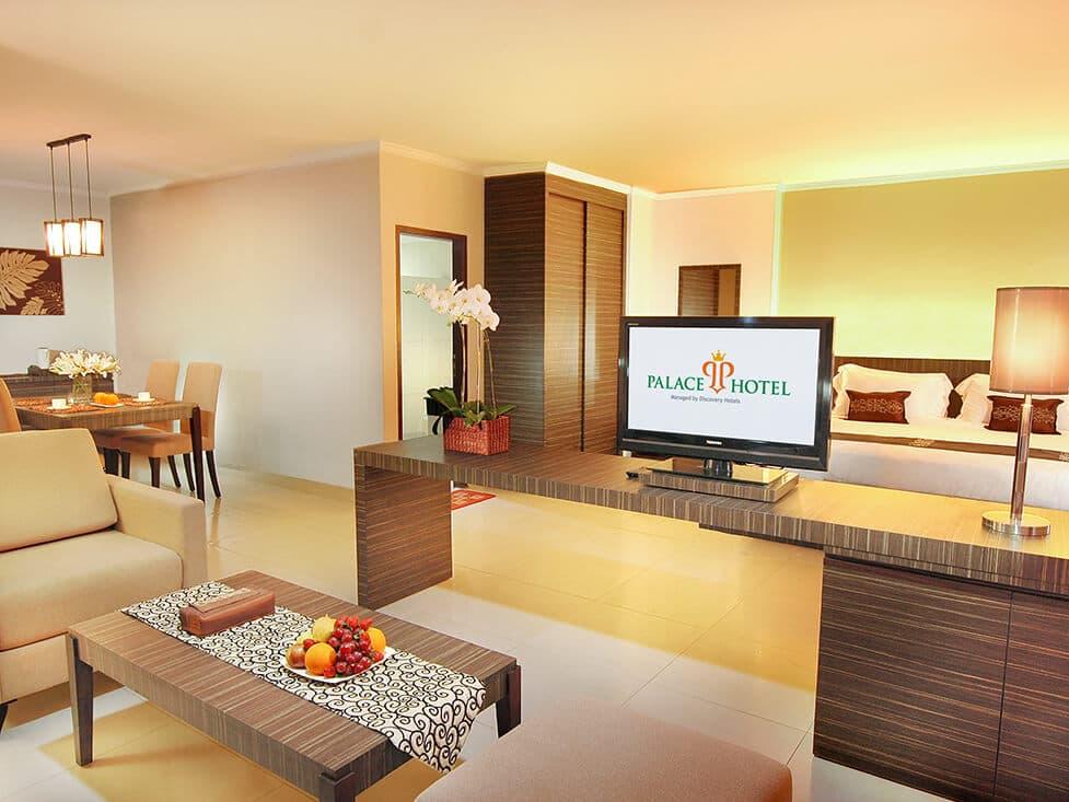 Suite Room - Bedroom - Palace Hotel Cipanas