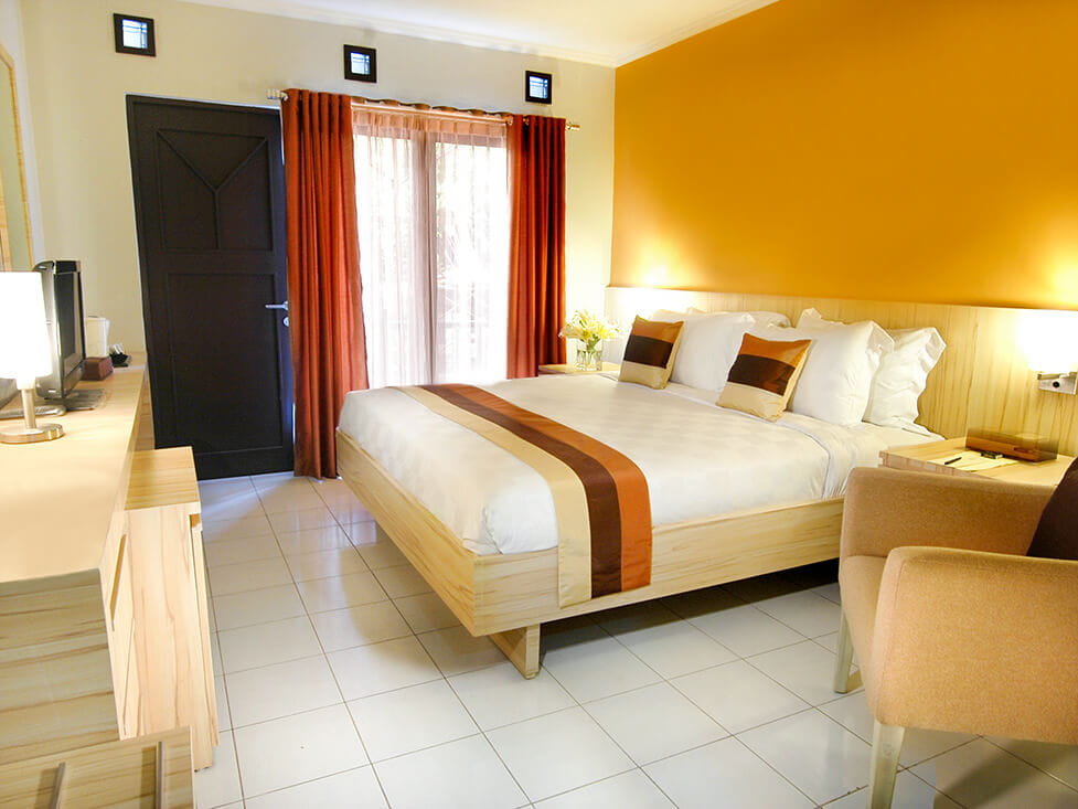 Superior Room - Queen Bed - Palace Hotel Cipanas