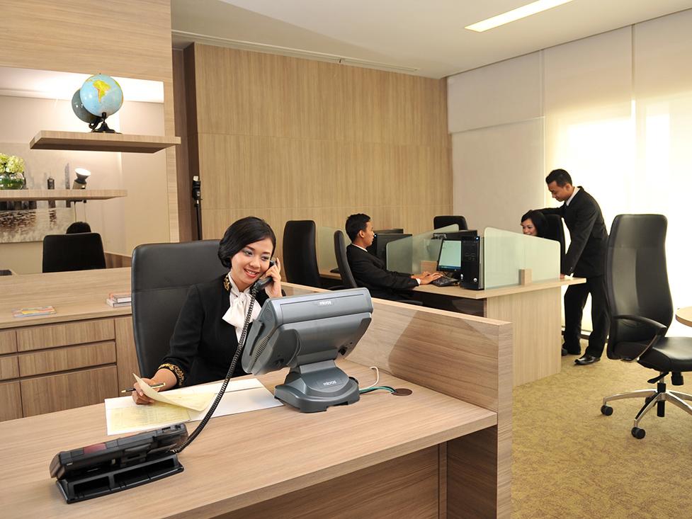 Bisnis Centre - Hotel Borobudur Jakarta