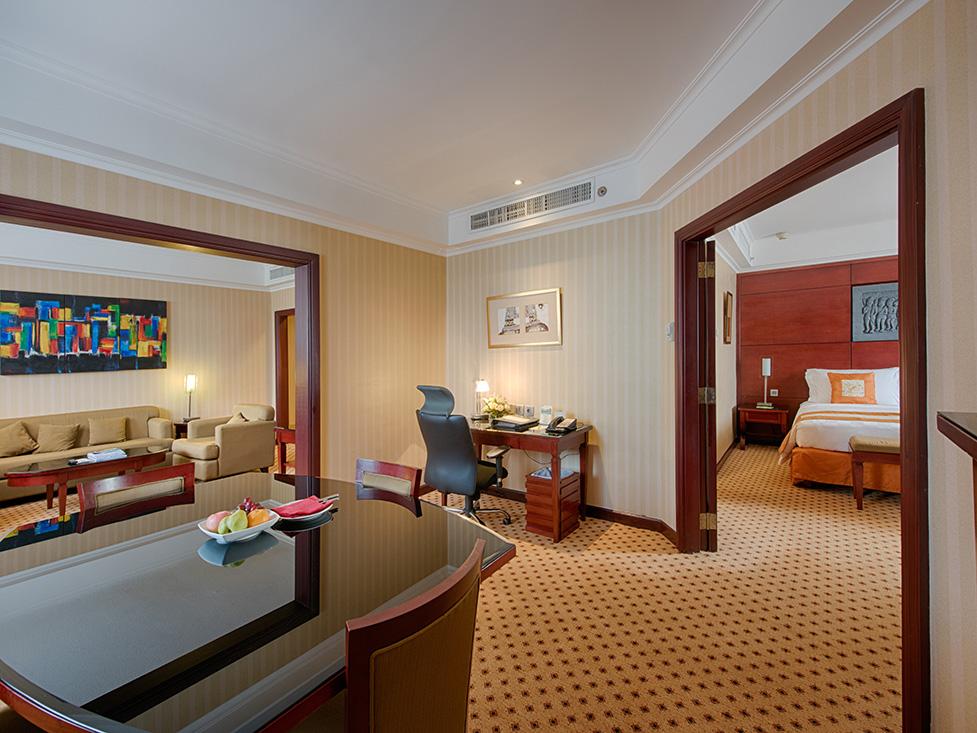 Executive Suite - Dining Room - Hotel Borobudur Jakarta