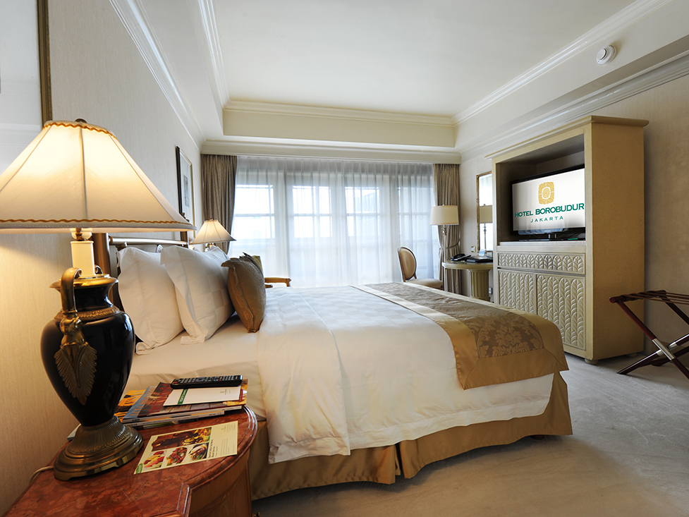 Presidential Suite Guest Room - Hotel Borobudur Jakarta