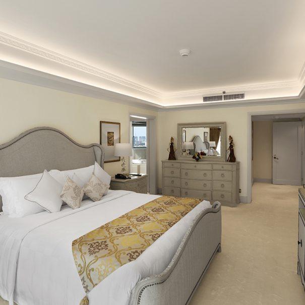 Presidential Suite Master Bedroom - Hotel Borobudur Jakarta