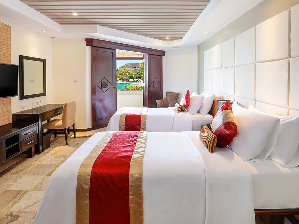 Discovery Suite - Twin Bedroom - Discovery Kartika Plaza Hotel