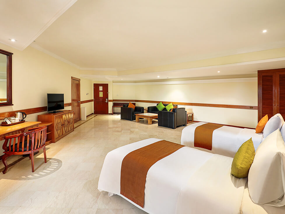 Family Suite - Twin Bedroom - Discovery Kartika Plaza Hotel
