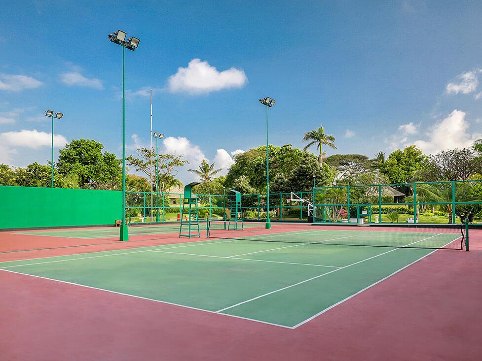 Sport & Recreation - Tennis Court - Discovery Kartika Plaza Hotel