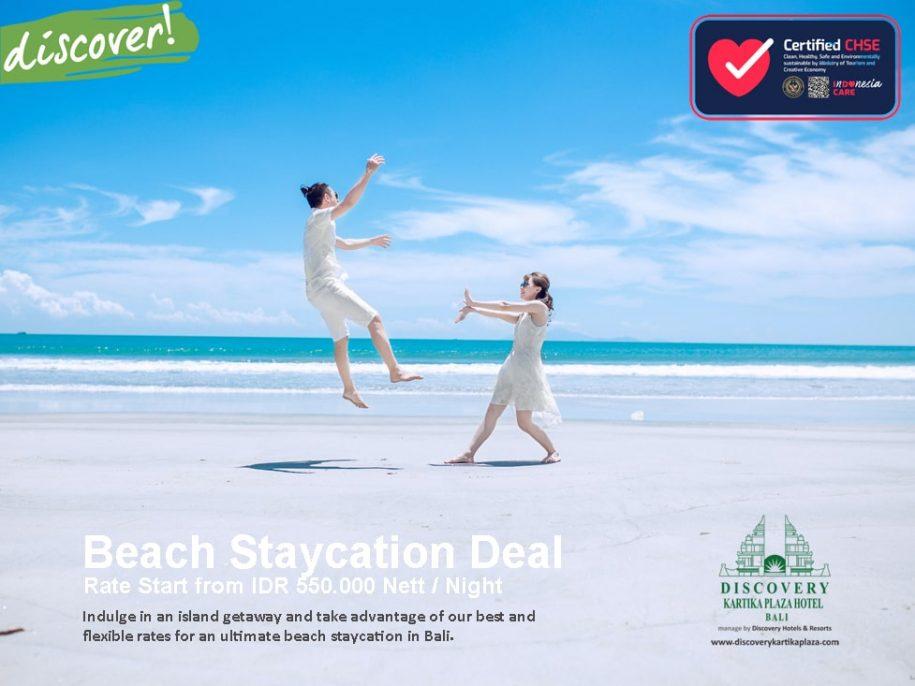 Beach Staycation Deal
