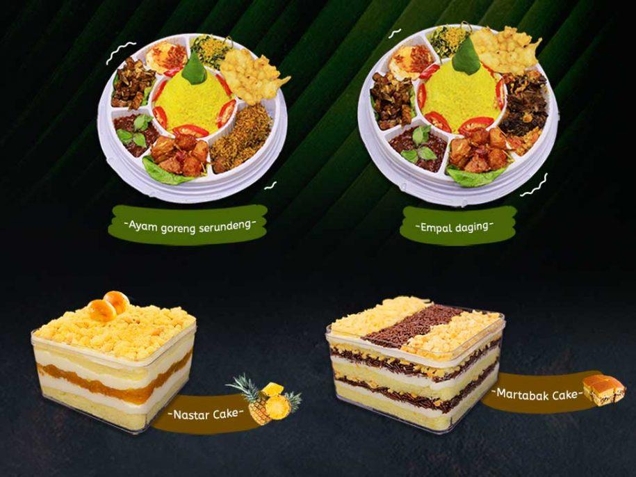 Mini Tumpeng & Dessert Cake