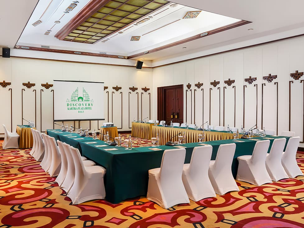 Business Meeting - Rama Room - Discovery Kartika Plaza Hotel