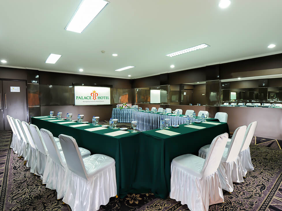 Business Meeting - V Setup - Palace Hotel Cipanas