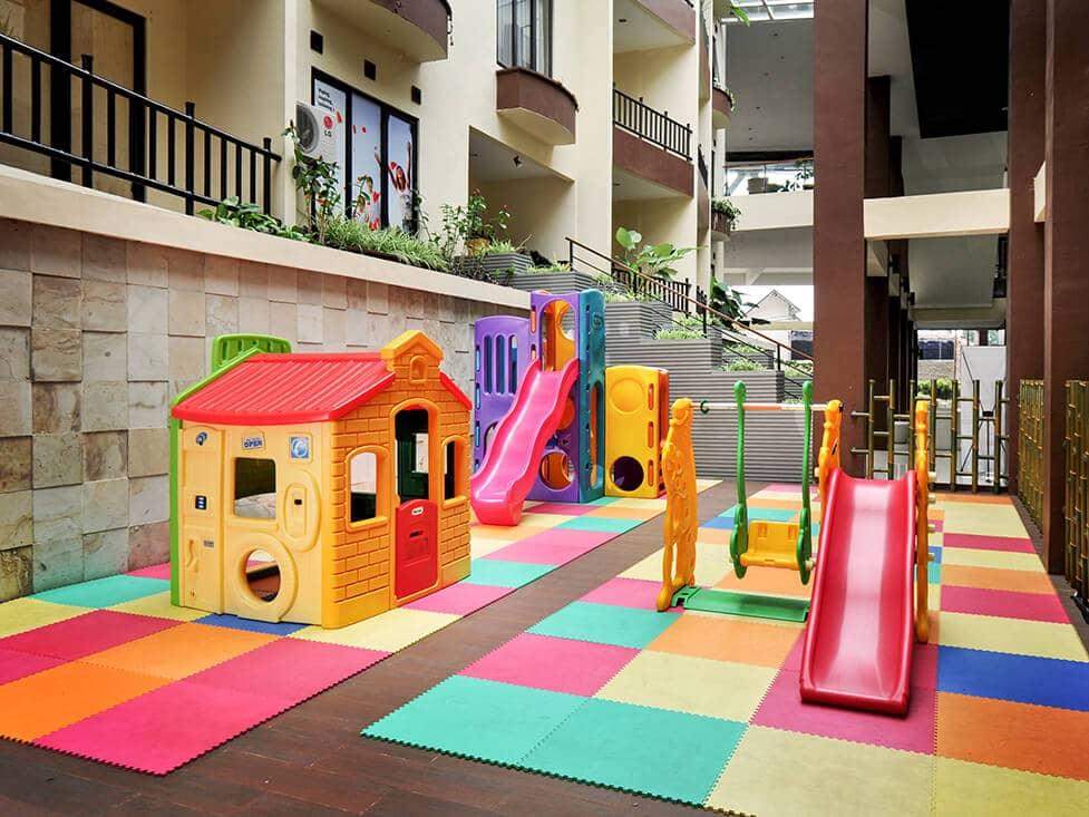 Facility - Kids Playground - Palace Hotel Cipanas