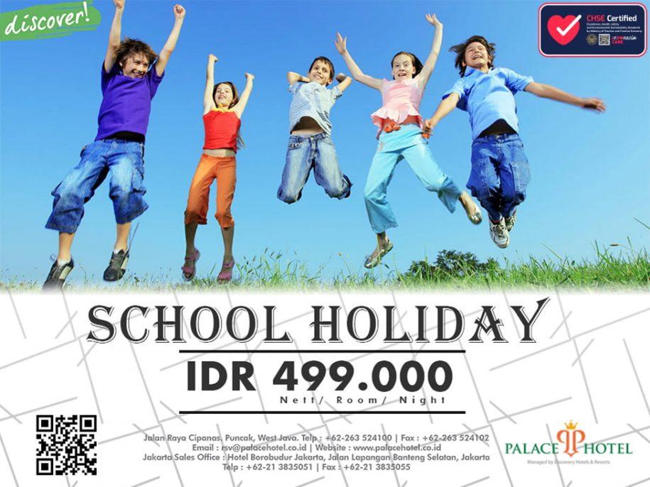 School Holiday - Palace Hotel Cipanas