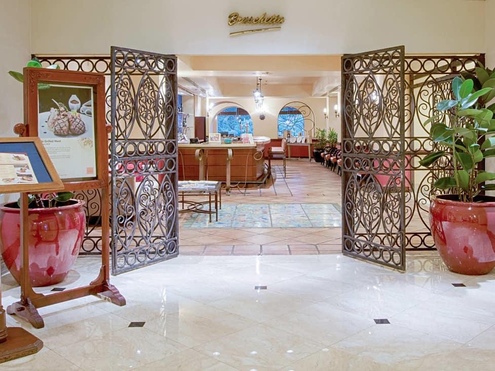 Bruschetta Italian Restaurant - Hotel Borobudur Jakarta