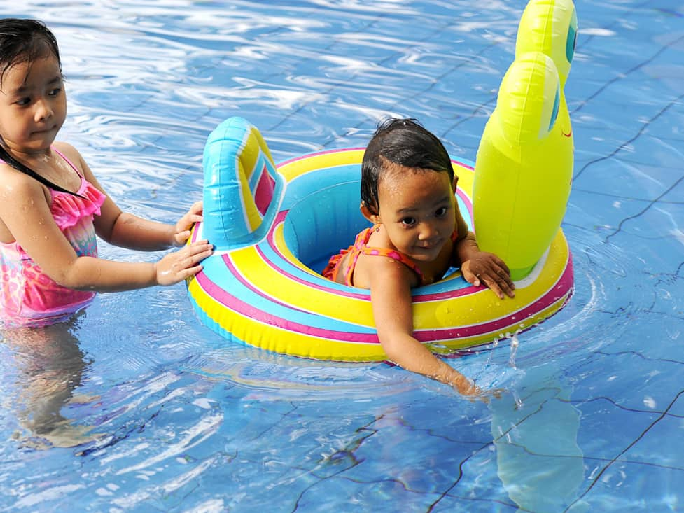 Sport Facilities - Children Swiming Pool - Hotel Borobudur Jakarta