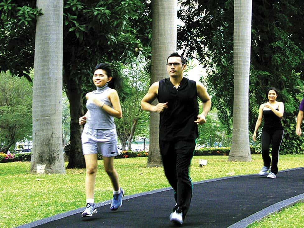 Sport Facilities - Jogging Track - Hotel Borobudur Jakarta