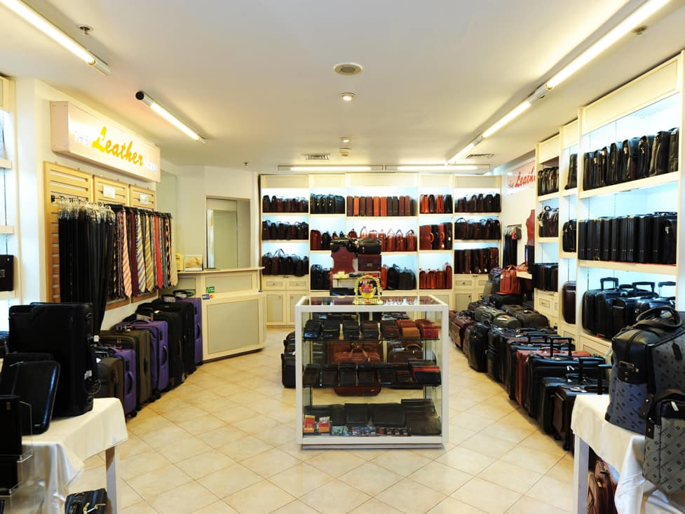 Gift Shop & Merchants - Leather Shop - Hotel Borobudur Jakarta