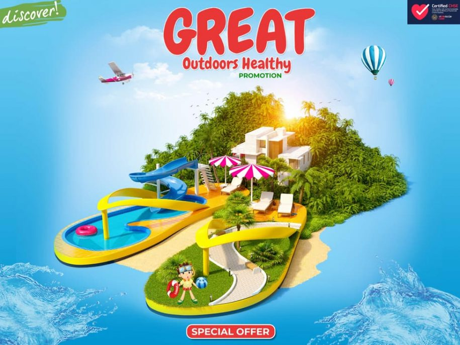 Great Outdoors Healthy Promotion - Hotel Borobudur Jakarta