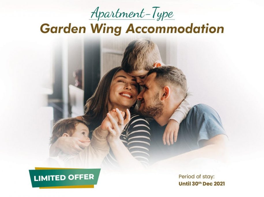 Apartment type Garden Wing Accommodation