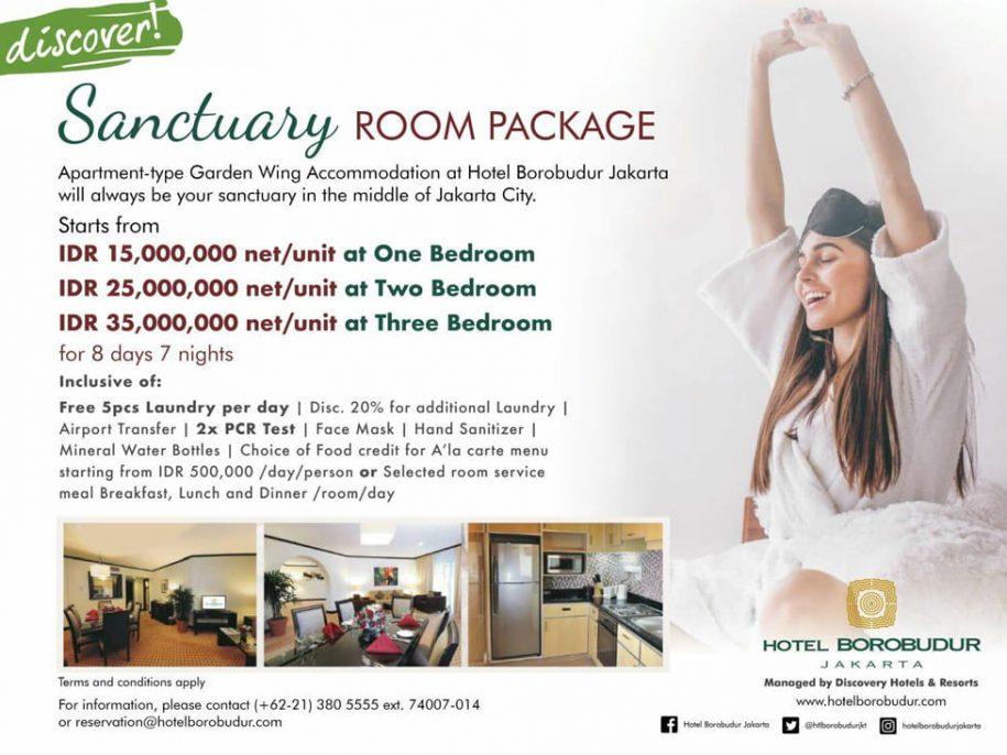 Sanctuary Package - Hotel Borobudur Jakarta