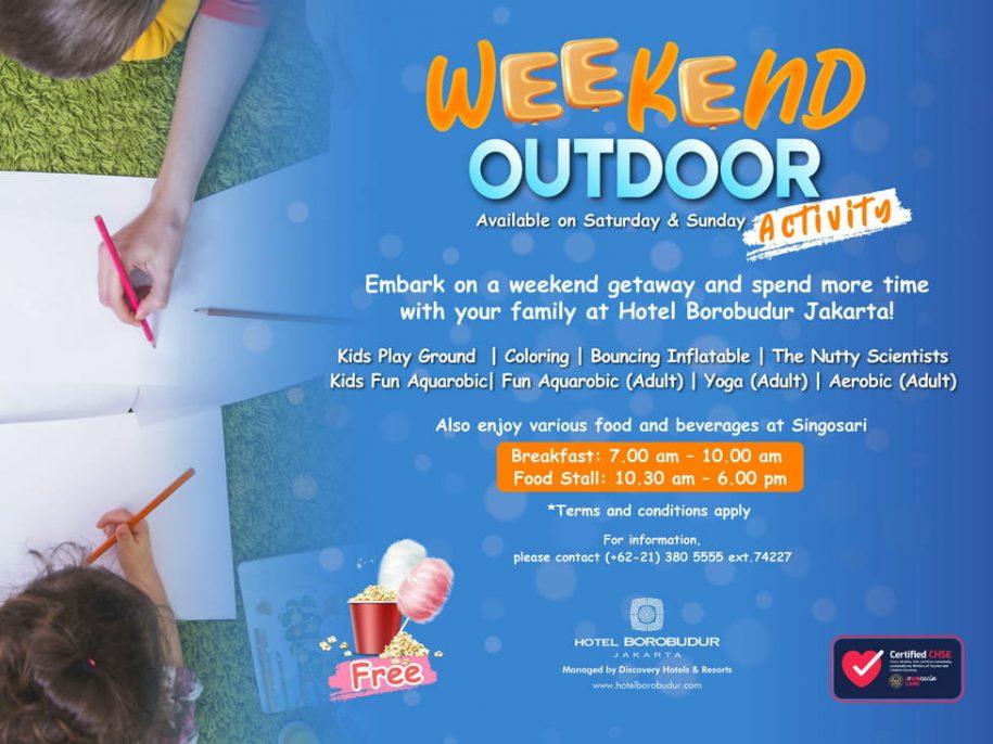 Weekend Outdor Activities - Hotel Borobudur Jakarta