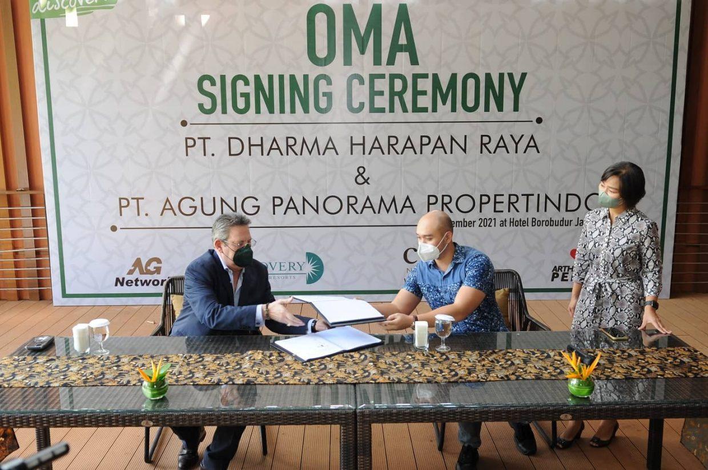 OMA Signing Ceremony CREA Nusa Dua Bali