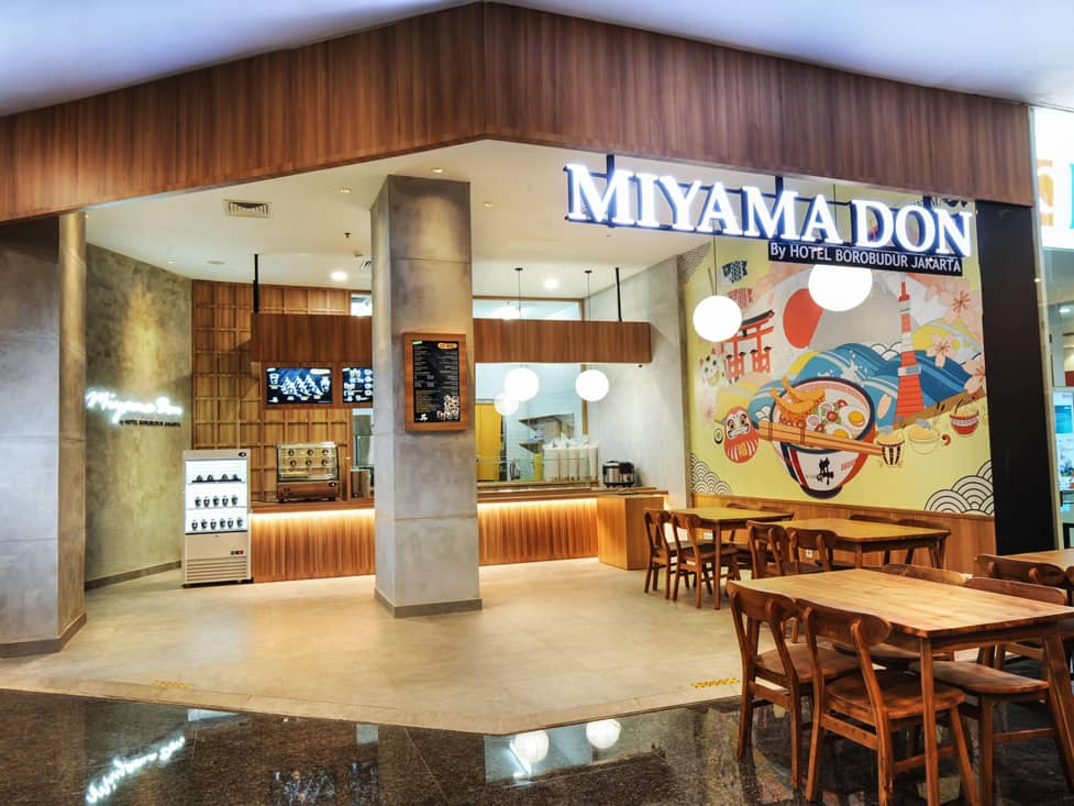 Miyama Don - Hotel Borobudur Jakarta